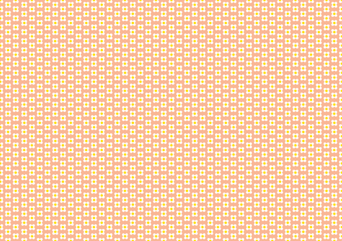 Small flowers background peach