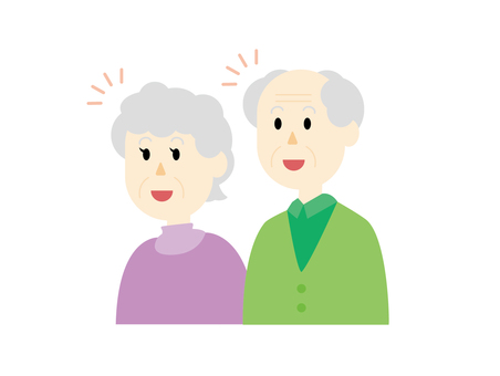 A082. Elderly couple