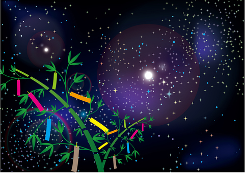 Tanabata - night sky