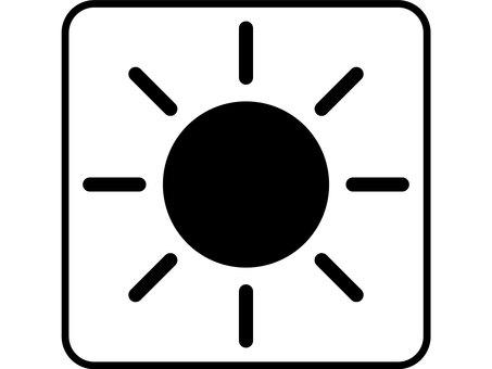 Design drawing sun