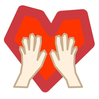 Hand and hand ③