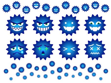 Blue Bikin (Virus) Set