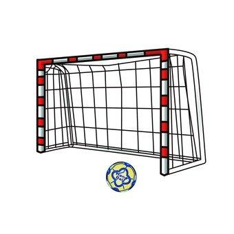 Handball goal and ball