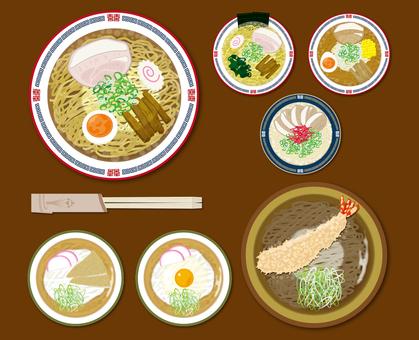 餐飲菜單菜單麵條