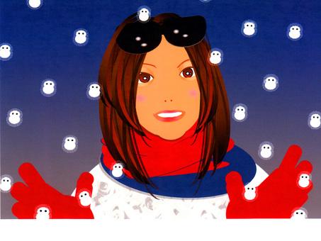 겨울 여자