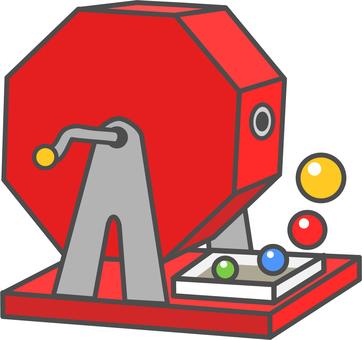 Drawing machine 3 (red)