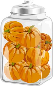 Bottled pumpkin 01