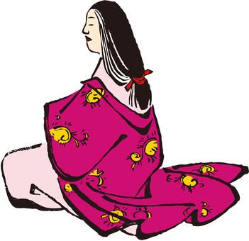 Japanese townspeople Women Part 1