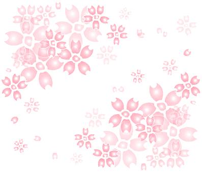 벚꽃 프레임 6