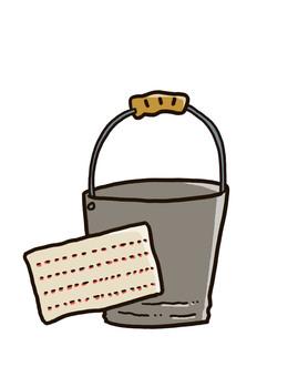 Bucket and rag 2