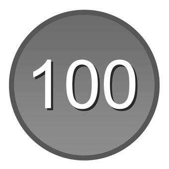 Hundred yen coin