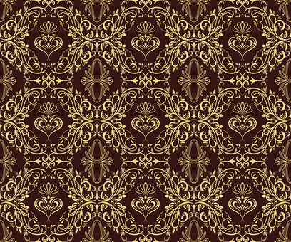 ダマスク織パターン1