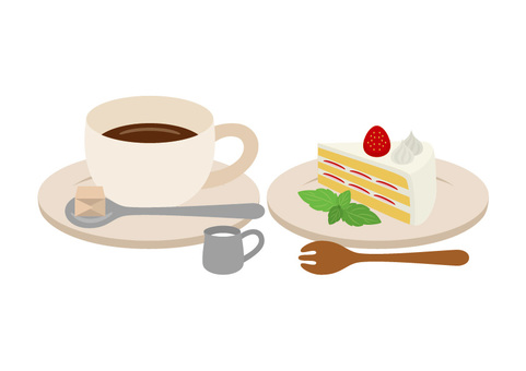 Coffee and shortcake