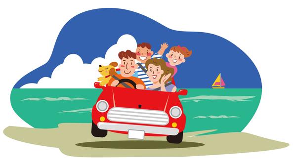 가족 여행 - 여름 1