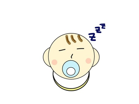 Baby sleeping face
