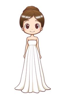 Wedding dress - Empire line