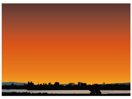 Sunset, morning glow, dawn 2