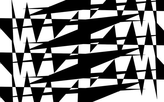 摘要·幾何圖案(黑色)