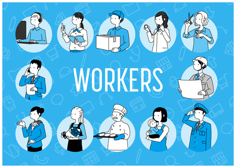 Workers-2 colors
