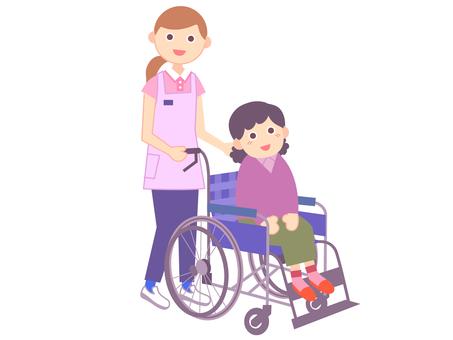 간병인 _ 휠체어 _3