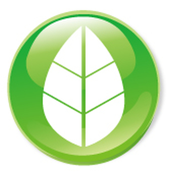 Leaf icon - green