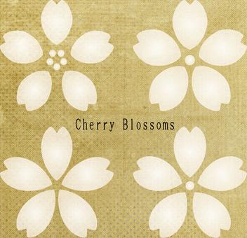 Simple cherry tree 1 retro