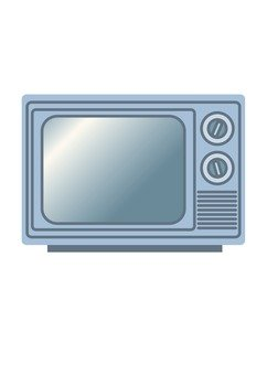 Retro TV (gray)