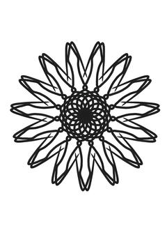 Monotone Sunflower
