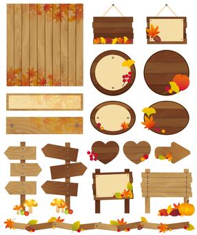 Tree decoration set ♡ fall ver