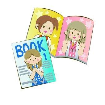 Idol magazines