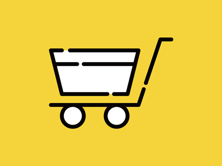 Big icon shopping cart