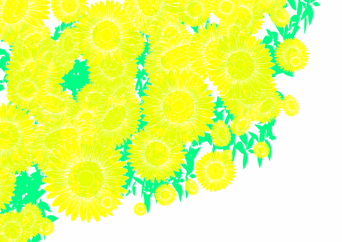 Sunflower background 2
