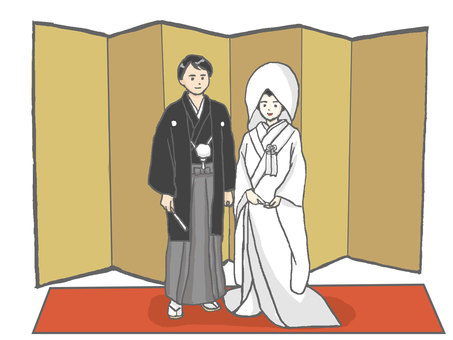 Japanese dress wedding