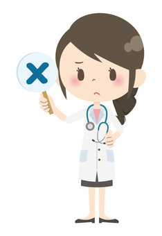 Female doctor * Answer · commentary 03
