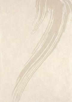 Japanese paper _ brush pattern _ vertical type 2159