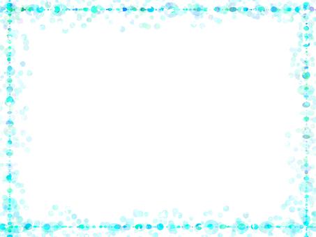Dot frame 4 (light blue)
