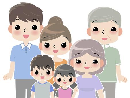 Three generation family_up