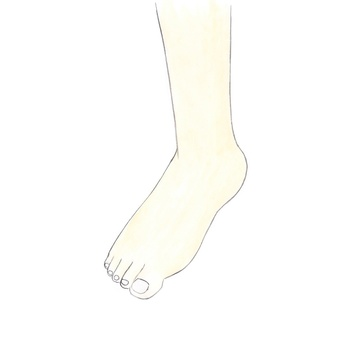 Right foot