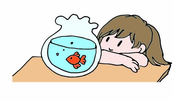 Goldfish and girls