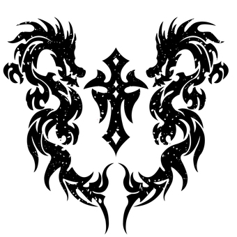 tribal-dragon-008