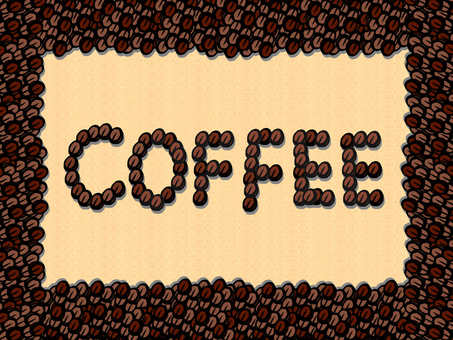 咖啡豆招牌(软木板)