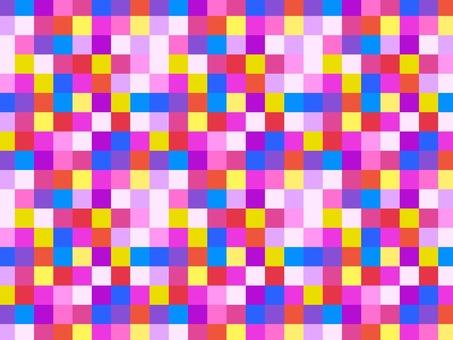 Colorful wallpaper pink base