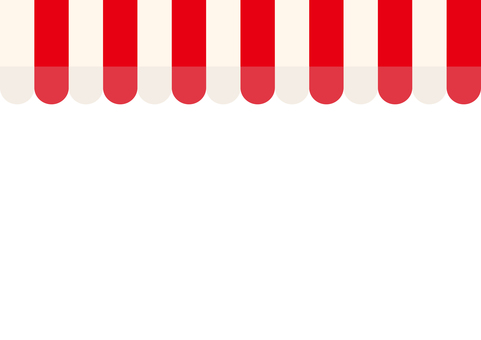 Store tent (red × white)
