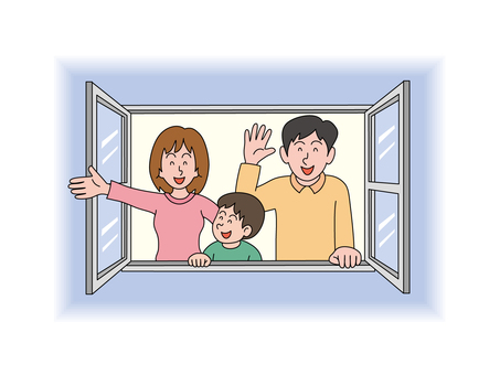 Families of the window side