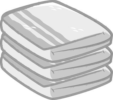 Towel (three layered)