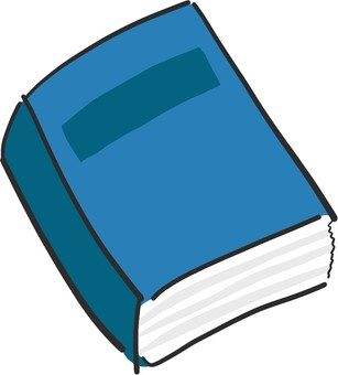 A thick book