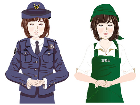 Daughter police and clerk
