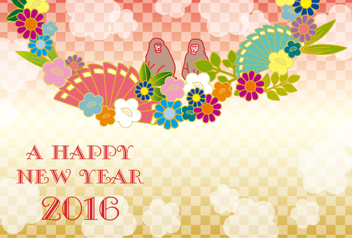2016 New Year's card design 6