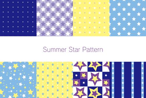 Summer Star Pattern