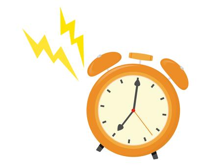 Ringing alarm